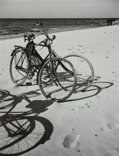 Bicycles at the Sea, Baltic Sea, Germany 1930