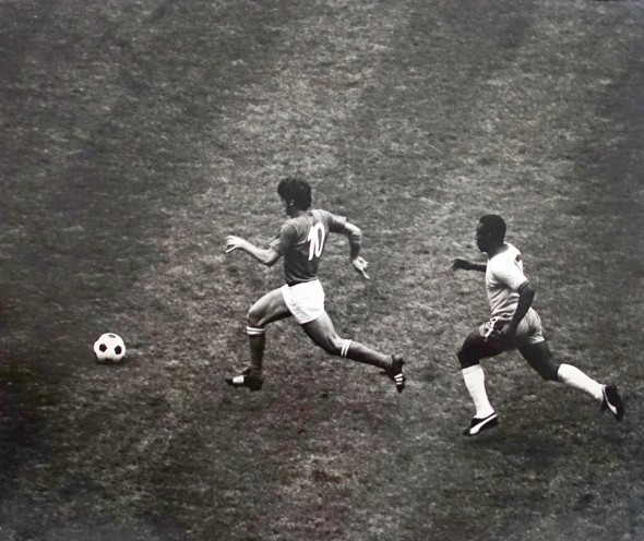 World Cup Final, Italy v Brazil, Estadio Azteca, Mexico, Mexico City, 1970