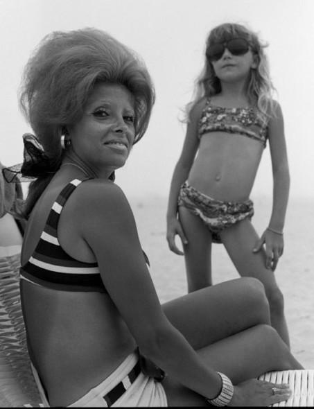 Mrs K & Daughter, 1970
