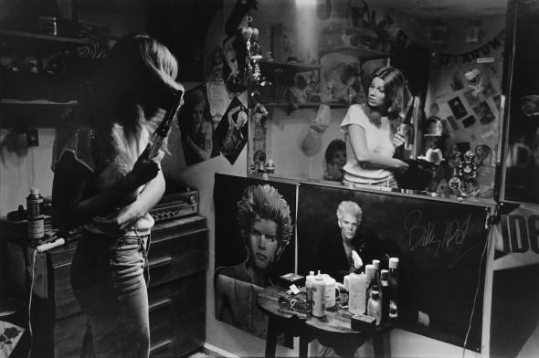 Dawn in her bedroom, 1985