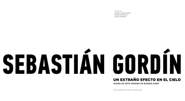 SEBASTIÁN GORDÍN, UN EXTRAÑO EFECTO EN EL CIELO