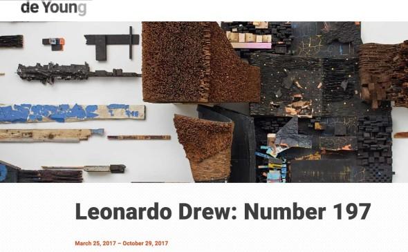 Leonardo Drew | de Young Museum, San Francisco
