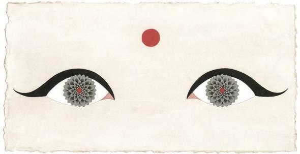 Olivia Fraser, Lotus Eyes, 2017