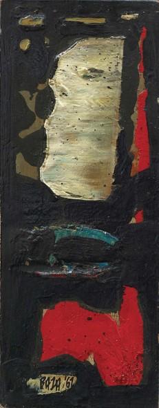 Sayed Haider Raza, Demi Lune, 1961
