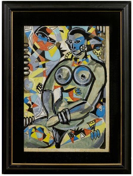 Francis Newton Souza, Untitled (Nude), 1950