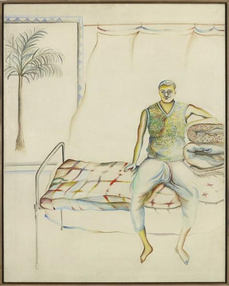 Bhupen Khakhar, Portrait of Pandoo, 1977