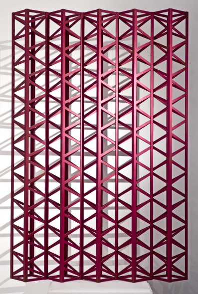 Rasheed Araeen, Burgundy Dark, 1971
