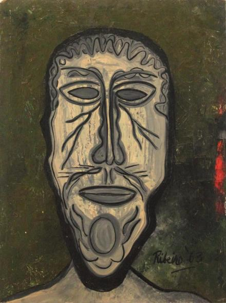 Lancelot Ribeiro, Head of a Man, 1963