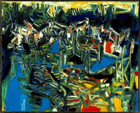 Sayed Haider Raza, Seine Port, 1960