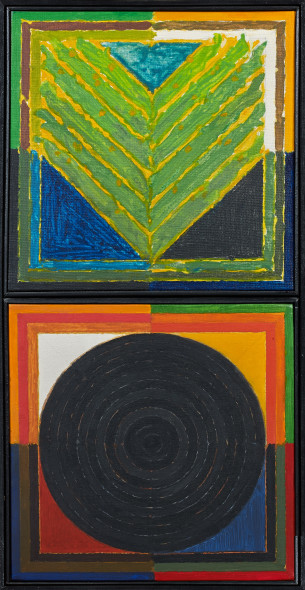 Sayed Haider Raza, Bindu/Germination, 1986