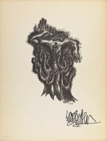 Syed Sadequain, After the Crucifixion I, c.1966