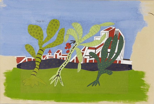 Francis Newton Souza, Untitled (Kalam Landscape), 1965