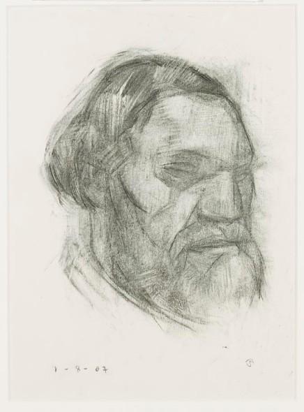 Mark Shields, Man looking left, 2007