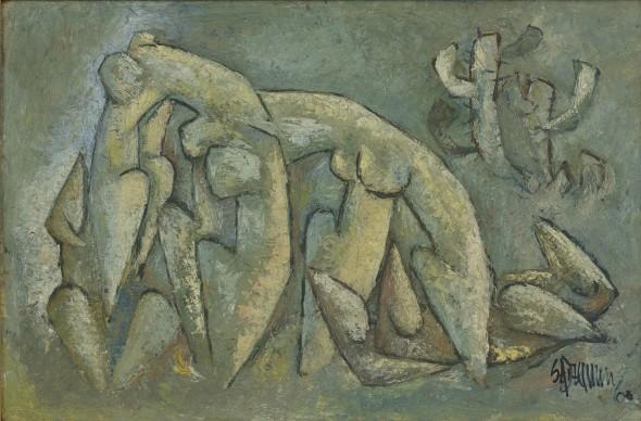 Syed Sadequain, Evolution, 1960