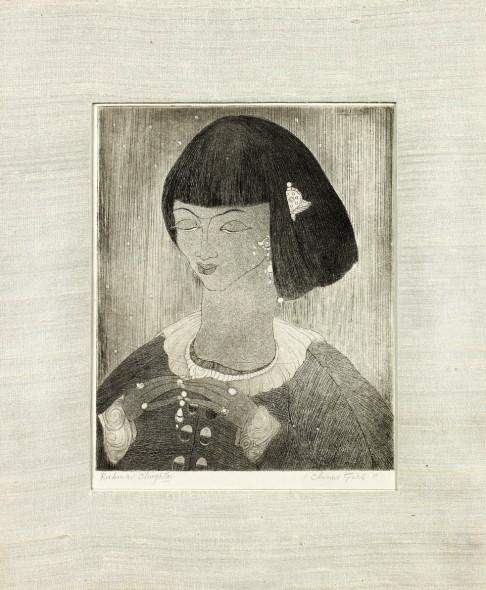 Abdur Rahman Chughtai, Chinese Girl