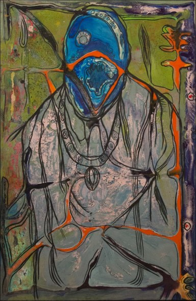 Lancelot Ribeiro, Pope with the Holy Spirit, c. 1965