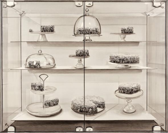 Lu Chao, Cake Cabinet No.1, 2016