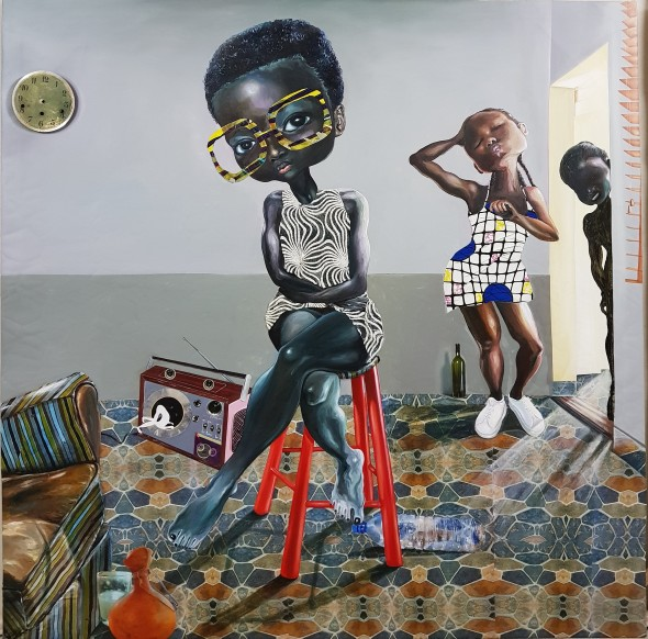 Ndidi Emefiele, Nice and Slow: the rhythm, 2017
