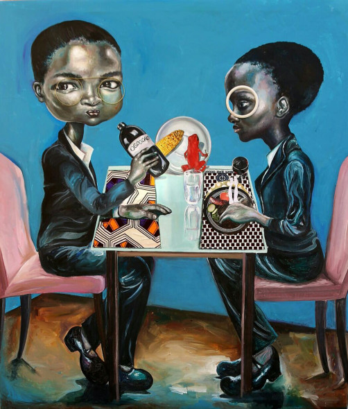 Ndidi Emefiele, Space lunch, 2016