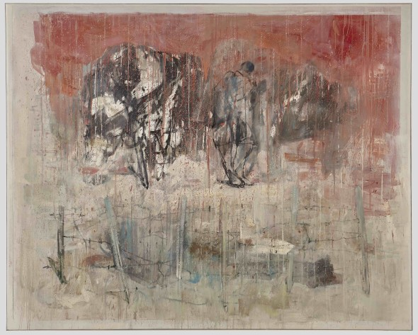 Cesare Lucchini, Nella polvere - resti, 2015