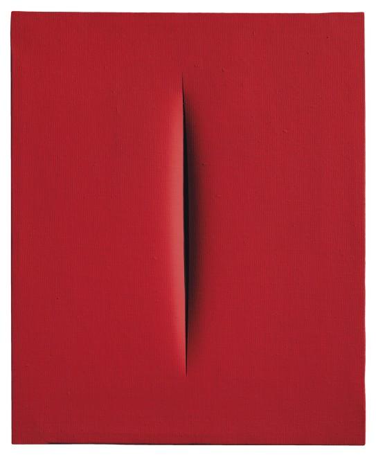 "<span class=""artist""><strong>Lucio Fontana</strong></span>, <span class=""title""><em>Concetto spaziale, Attesa</em>, 1967</span>"