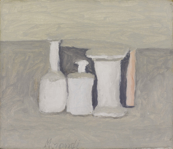 "<span class=""artist""><strong>Giorgio Morandi</strong></span>, <span class=""title""><em>Natura morta</em>, 1963</span>"