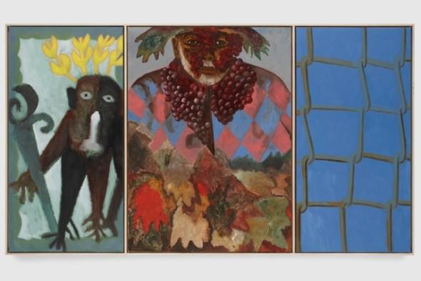 "<span class=""artist""><strong>Francesco Clemente</strong></span>, <span class=""title""><em>Self-portrait in the Alps</em>, 2009</span>"