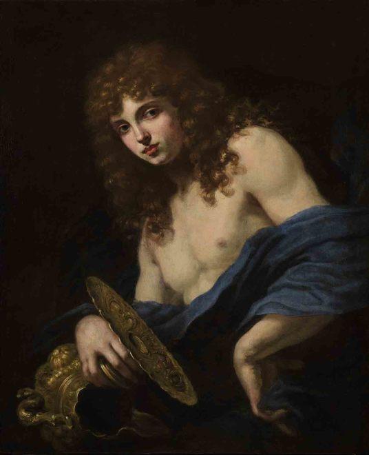 "<span class=""artist""><strong>Baldassare Franceschini, called Volterrano</strong></span>, <span class=""title""><em>Portrait of Marquis Luigi di Alberto Altoviti as Ganymede</em></span>"