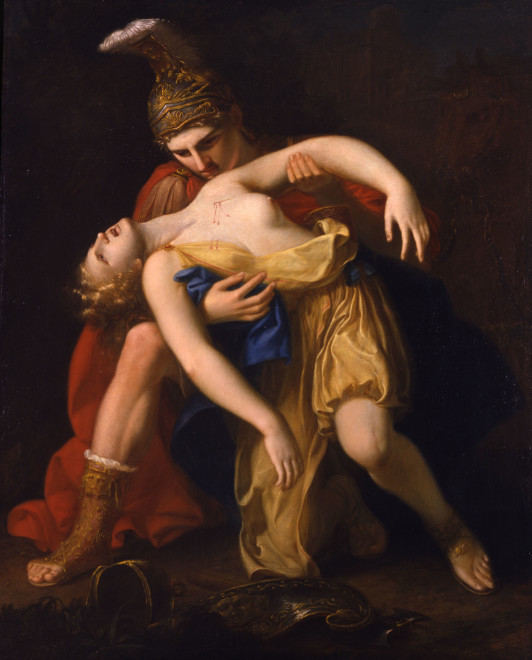 "<span class=""artist""><strong>Gaspare Landi</strong></span>, <span class=""title""><em>Achille e Pentesilea</em></span>"