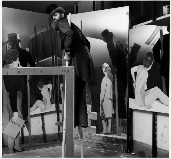 "<span class=""artist""><strong>Ugo Mulas</strong></span>, <span class=""title""><em>Michelangelo Pistoletto</em>, 1970</span>"
