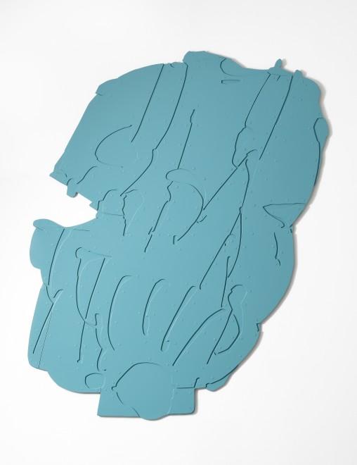"""<span class=""""artist""""><strong>Pietro Consagra</strong></span>, <span class=""""title""""><em>Piano apesso Alluminio celeste</em>, 1966-67</span>"""