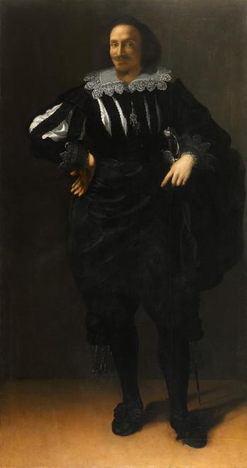 "<span class=""artist""><strong>Artemisia Gentileschi</strong></span>, <span class=""title""><em>Portrait of a Gentleman (Antoine De Ville)</em>, c. 1625-40</span>"