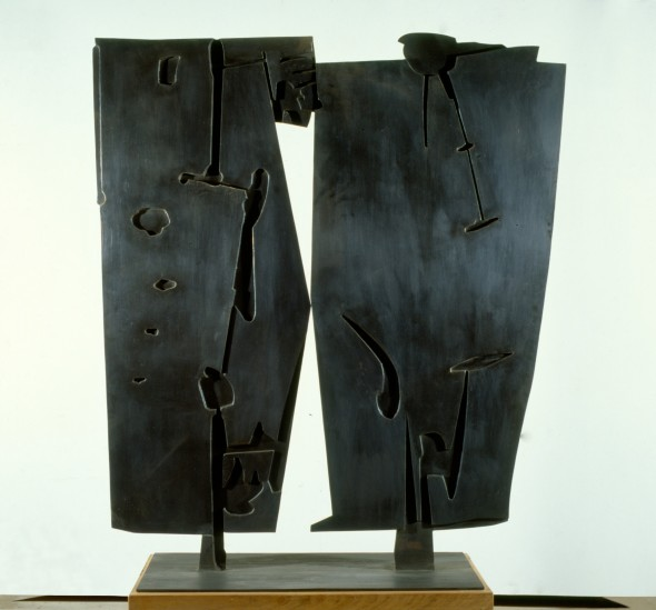 "<span class=""artist""><strong>Pietro Consagra</strong></span>, <span class=""title""><em>Colloquio notturno</em>, 1957</span>"