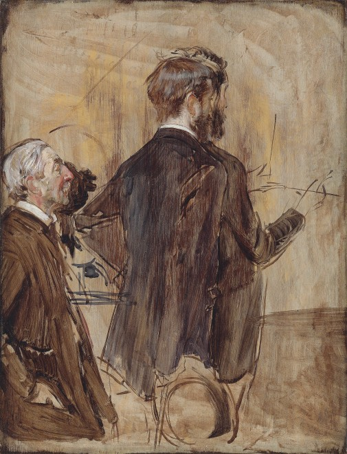 <span class=&#34;artist&#34;><strong>Giovanni Boldini</strong></span>, <span class=&#34;title&#34;><em>Connoisseurs in an Artist's studio</em>, circa 1884-85</span>