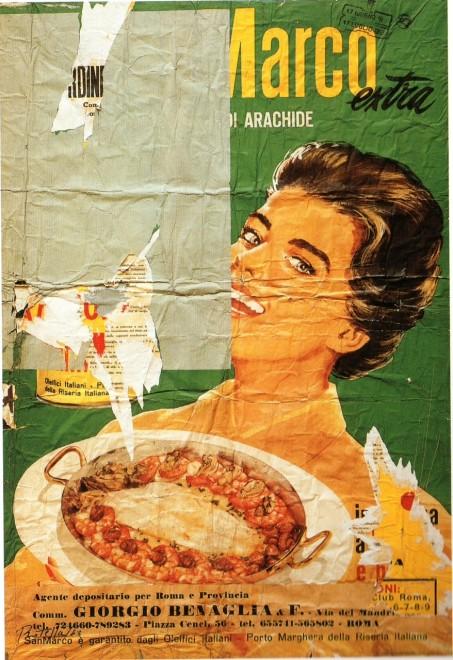 "<span class=""artist""><strong>Mimmo Rotella</strong></span>, <span class=""title""><em>Arachidina</em>, 1963</span>"