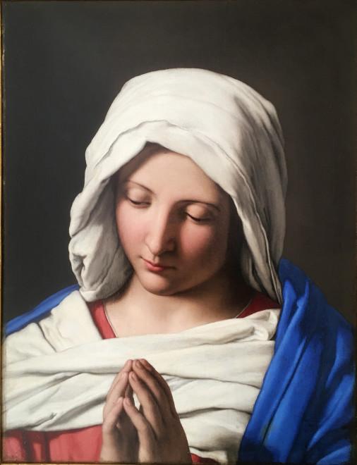 "<span class=""artist""><strong>Giovanni Battista Salvi Il Sassoferrato</strong></span>, <span class=""title""><em>The Madonna In Prayer</em></span>"