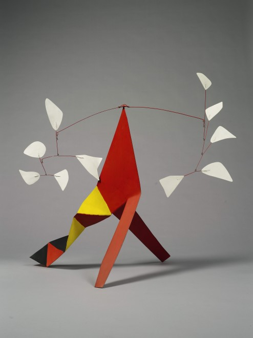 "<span class=""artist""><strong>Alexander Calder</strong></span>, <span class=""title""><em>Five White against Five White</em>, 1973</span>"