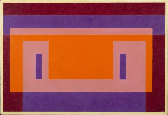 <span class=&#34;artist&#34;><strong>Josef Albers</strong></span>, <span class=&#34;title&#34;><em>Variant Orange Wall</em>, 1948-56</span>