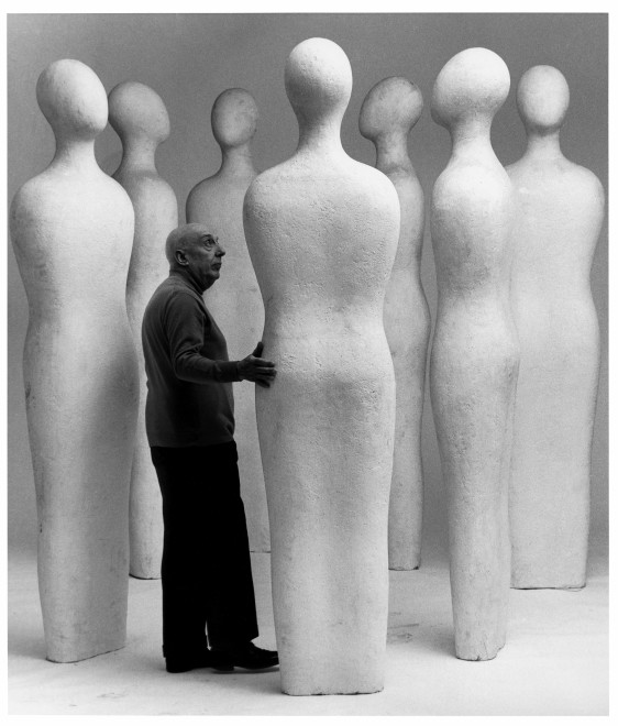 "<span class=""artist""><strong>Ugo Mulas</strong></span>, <span class=""title""><em>Fausto Melotti, I sette Savi</em>, 1970</span>"