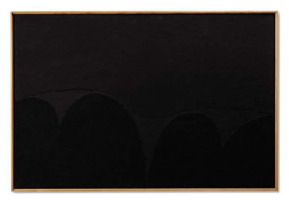 "<span class=""artist""><strong>Alberto Burri</strong></span>, <span class=""title""><em>Nero Mi n.5</em>, 1989</span>"
