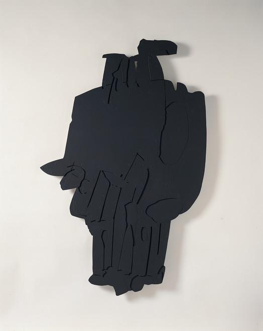 "<span class=""artist""><strong>Pietro Consagra</strong></span>, <span class=""title""><em>Piano appeso Alluminio scuro</em>, 1966-67</span>"
