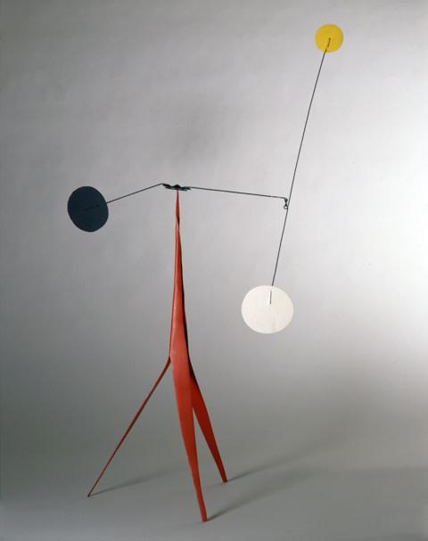 "<span class=""artist""><strong>Alexander Calder</strong></span>, <span class=""title""><em>Frère (maquette)</em>, circa 1973</span>"