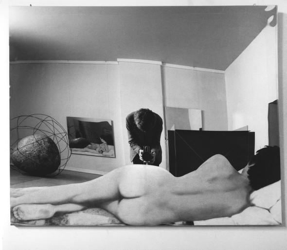 <span class=&#34;artist&#34;><strong>Ugo Mulas</strong></span>, <span class=&#34;title&#34;><em>Room of Michelangelo Pistoletto, Vitalit&#224; del Negativo, Palazzo delle Esposizioni, Roma, 1970</em>, 1970</span>