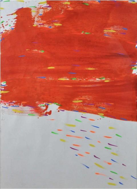 "<span class=""artist""><strong>Hsiao Chin</strong></span>, <span class=""title""><em>Red Cloud</em>, 1985</span>"