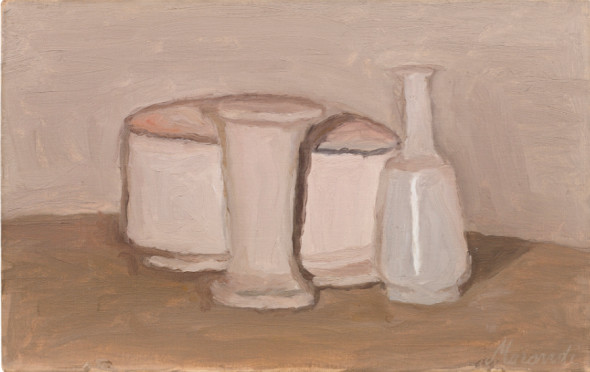 "<span class=""artist""><strong>Giorgio Morandi</strong></span>, <span class=""title""><em>Natura Morta</em>, 1943</span>"