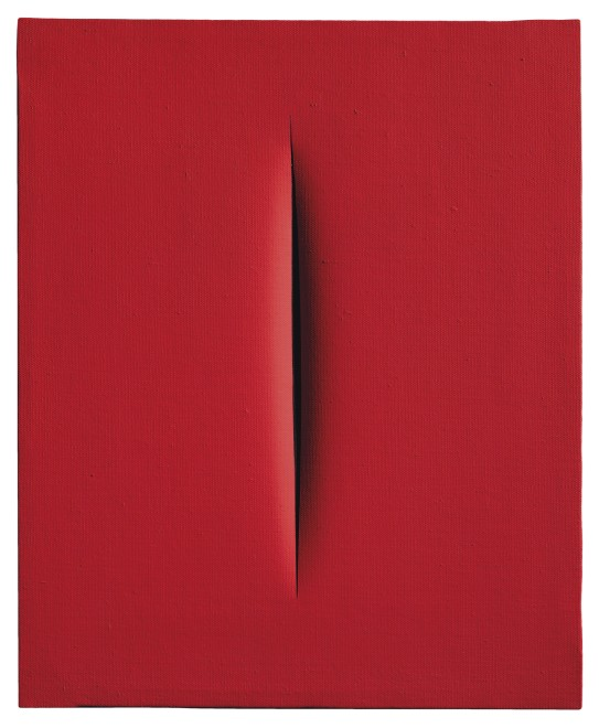 "<span class=""artist""><strong>Lucio Fontana</strong></span>, <span class=""title""><em>Concetto spaziale, Attesa</em>, 1967</span>"