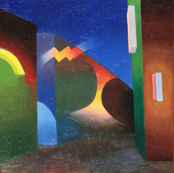 "<span class=""artist""><strong>Salvo</strong></span>, <span class=""title""><em>The City</em>, 1986</span>"