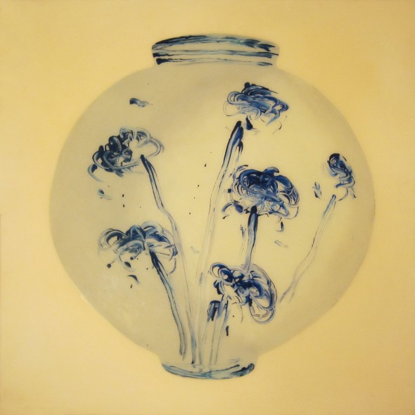 "<span class=""artist""><strong>Ik-Joong Kang</strong></span>, <span class=""title""><em>Blue and White Porcelain</em>, 2010</span>"