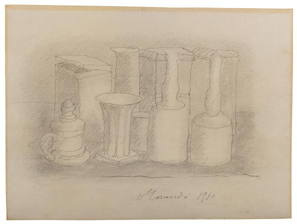 "<span class=""artist""><strong>Giorgio Morandi</strong></span>, <span class=""title""><em>Natura Morta (Still Life)</em>, 1930</span>"