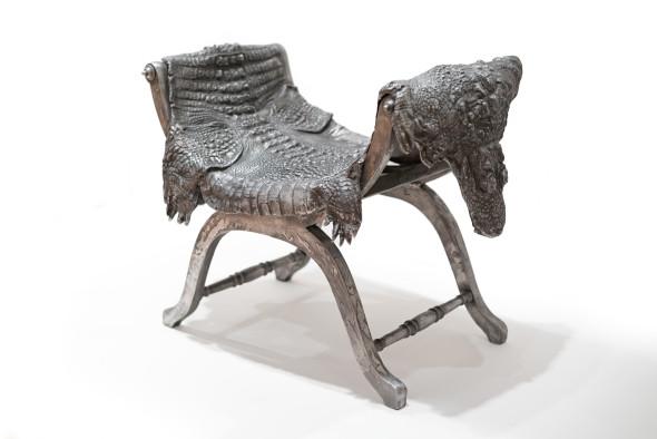 "<span class=""artist""><strong>Claude Lalanne</strong></span>, <span class=""title""><em>Crococurule</em>, 1992/2009</span>"